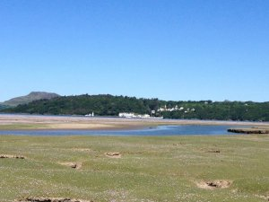 Portmeirion from Ynys