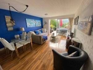 Lounge and Patio Door